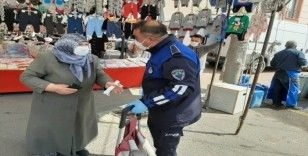 Ergene Belediyesi virüsten korumaya devam ediyor