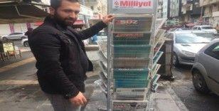 Diyarbakır gazeteleri tam sayfa 'evde kal Diyarbakır' manşetiyle çıktı