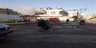 Kilis'te ikamet yangını