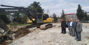 Adıyaman'da yeni halk eğitim merkezinin inşaatına başlandı