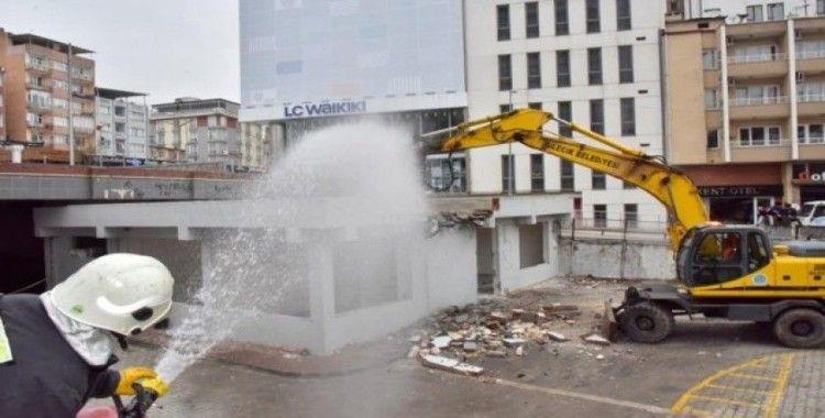 Kültür Sitesi yıkılıyor