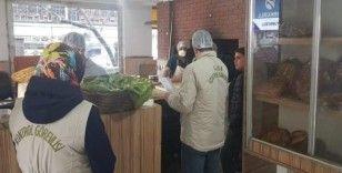 Bingöl'de gıda işletmelerine korona virüs denetimi