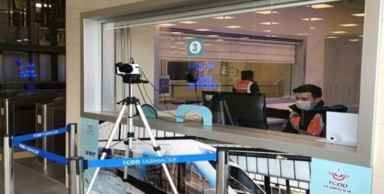 Marmaray istasyonlarında koronavirüse karşı termal kamera dönemi