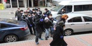 Uyuşturucu maddeyi süt ambalajlarında saklayan çeteye operasyon: 9 gözaltı