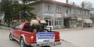 Mustafakemalpaşa'da kırsal mahalleler dezenfekte ediliyor