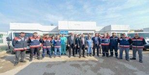 Büyükşehir'in hayvan nakil araç filosu genişliyor
