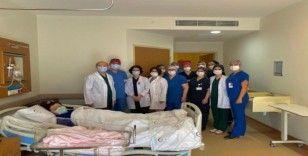Eskişehir Yunus Emre Devlet Hastanesi Tüp Bebek Merkezinde ilk bebek