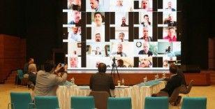 Eğitim-Bir-Sen 48. Başkanlar Kurulu Toplantısı'nı video konferansla yaptı