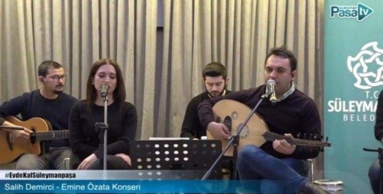 Süleymanpaşa Belediyesi evde kültür sanat etkinliklerine başladı