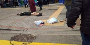 Eski kocası tarafından sokak ortasında silahla vuruldu