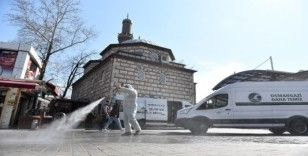 Osmangazi'de dezenfeksiyon seferberliği