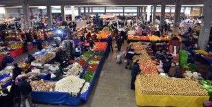 Aliağa'da cumartesi ve çarşamba pazarları kapatıldı