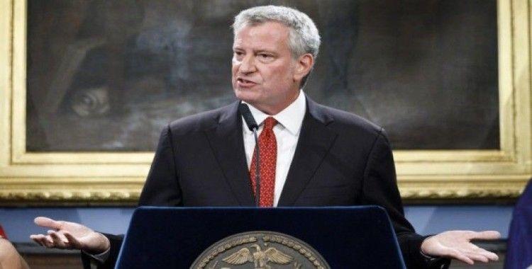 New York Belediye Başkanı Blasio: 'New York Mayıs'ın sonuna kadar kapalı kalabilir'