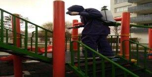 ESSYÖNDER ekibi düzenli dezenfekte çalışmalarını sürdürüyor