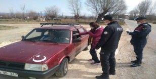 Daday'da giriş çıkışlarda denetimler başladı