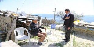 Başkan Ulutaş'tan Yaşlılara Moral Ziyareti