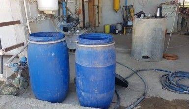 Adana'da 665 litre kaçak içki ele geçirildi