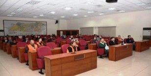 Aydın'da Vefa Sosyal Destek Grubuna hizmet içi eğitim verildi