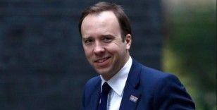 İngiltere Sağlık Bakanı Hancock koronavirüse yakalandı