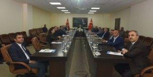 İl İdare Kurulu ve Pandemi Koordinasyon Kurulu Toplantısı Vali Su başkanlığında yapıldı
