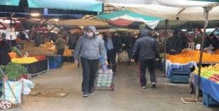 Pazarcılar yeni tedbirlere uydu, vatandaşlar memnun oldu