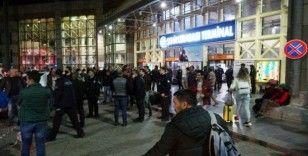 Antalya otogarında şehirlerarası yolculuk kısıtlaması