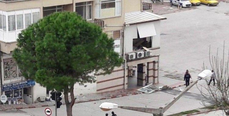 Mersin'de iş kazası: 1 yaralı