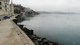 Koronavirüs nedeniyle Kuleli sahil boş kaldı