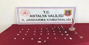 Antalya'da uyuşturucu operasyonu: 1 gözaltı