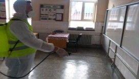 Kütahya'da 502 okul, 4 bin 865 derslik dezenfekte edildi