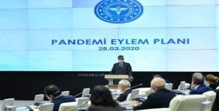 Vali Yerlikaya, Pandemi Kurulu Toplantı'sından fotoğraf paylaştı