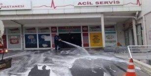 Süleymanpaşa'da dezenfekte çalışmaları sürüyor