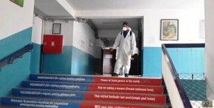 Okullarda dezenfekte çalışması sürdürülüyor