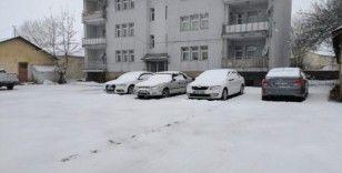 Mart'ın son günlerinde Karlıova'da kar yağışı