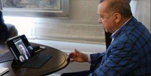Cumhurbaşkanı Erdoğan, Ulaştırma Bakanı Karaismailoğlu ile görüştü