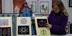 Anadolu kadınının mesajları 'motifler' kayıt altına alındı