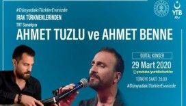 YTB'den evindeki vatandaşlara dijital konserler