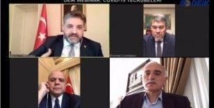 Koronavirüs mücadelesi veren 3 ülkenin Türk büyükelçileri ile online seminer