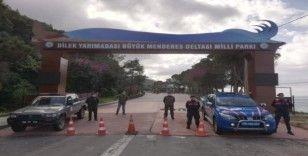 Kuşadası Dilek Yarımadası Milli Parkı kapılarını kapattı