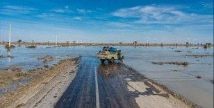 İran'ın güneybatısındaki sel felaketinde 4 kişi hayatını kaybetti