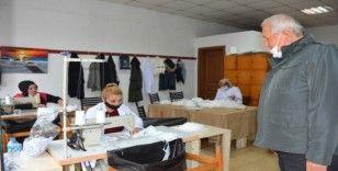 Kdz. Ereğli belediyesi maske üretimini hızlandırdı