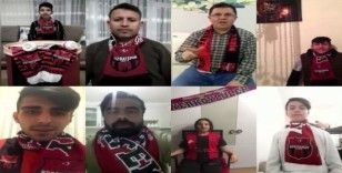 Yozgatspor taraftarlarından 'Evde Kal' çağrısı