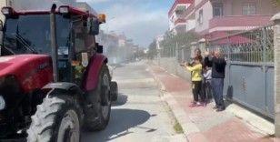 Tarsus Belediyesine, sağlık çalışanları ve vatandaştan alkışlı teşekkür