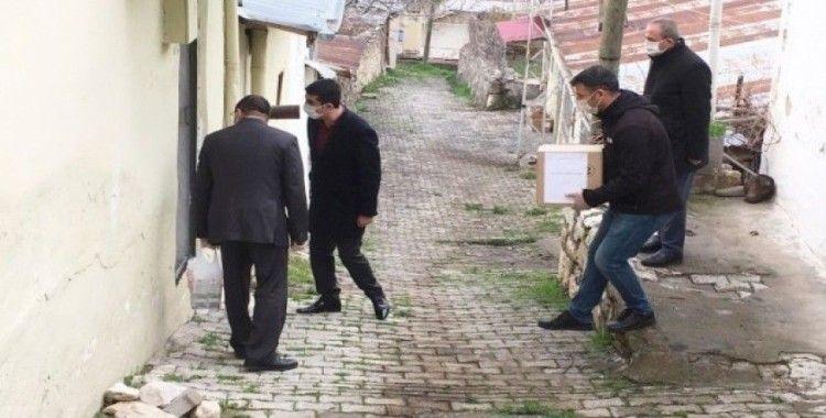 """Tunceli'de """"Vefa Sosyal Destek Grubu"""" çalışmalarını sürdürüyor"""