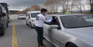 Güroymak'ta 3 otobüs sürücüsüne korona virüs cezası