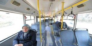 Başkent'te toplu taşıma araçlarını kullanan vatandaşların sayısı yüzde 84 azaldı
