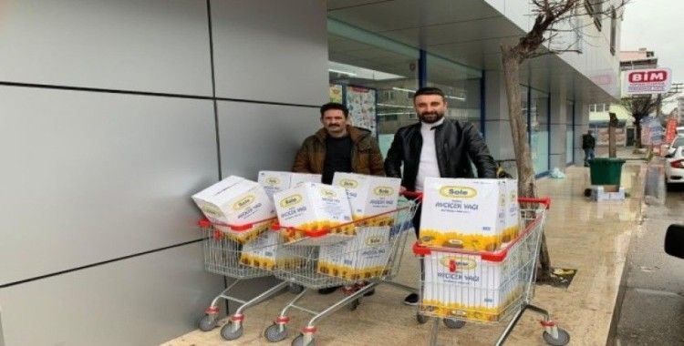 Bursa Oltu Çayüstü Köyü Derneği'nden hemşerilerine destek