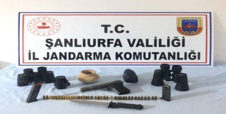 Şanlıurfa'da tarihi eser kaçakçılığı operasyonu