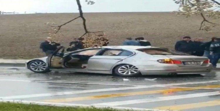 Batman'da otomobil takla attı: 4 yaralı