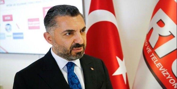 RTÜK Başkanı Şahin: 'Gün birlik günüdür, gün siyasi hasletleri kenara bırakma zamanıdır'
